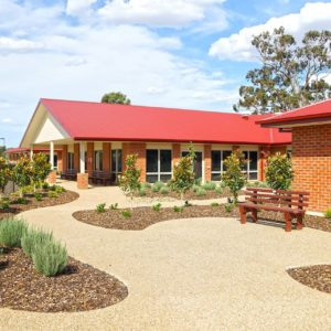 Commercial builders upgrade Yarrawonga Woods Point aged care facility