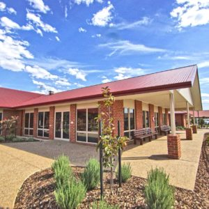 Yarrawonga commercial builders upgrade Woods Point aged care facility