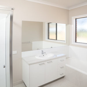 New bathroom - domestc home builders in Numurkah