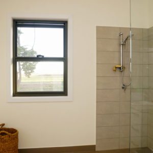New home builders' Numurkah bathroom