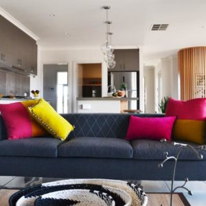 Home builders' Numurkah living rooms