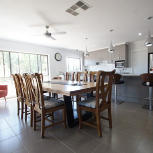 Kyabram home builders dining room