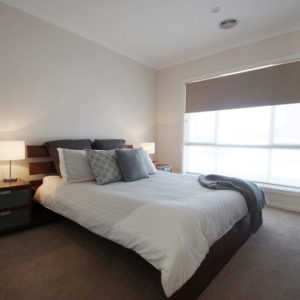 Master bedroom by Moama builders