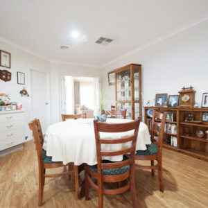Numurkah builders' dining room