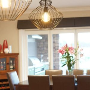 Numurkah home builders' dining room